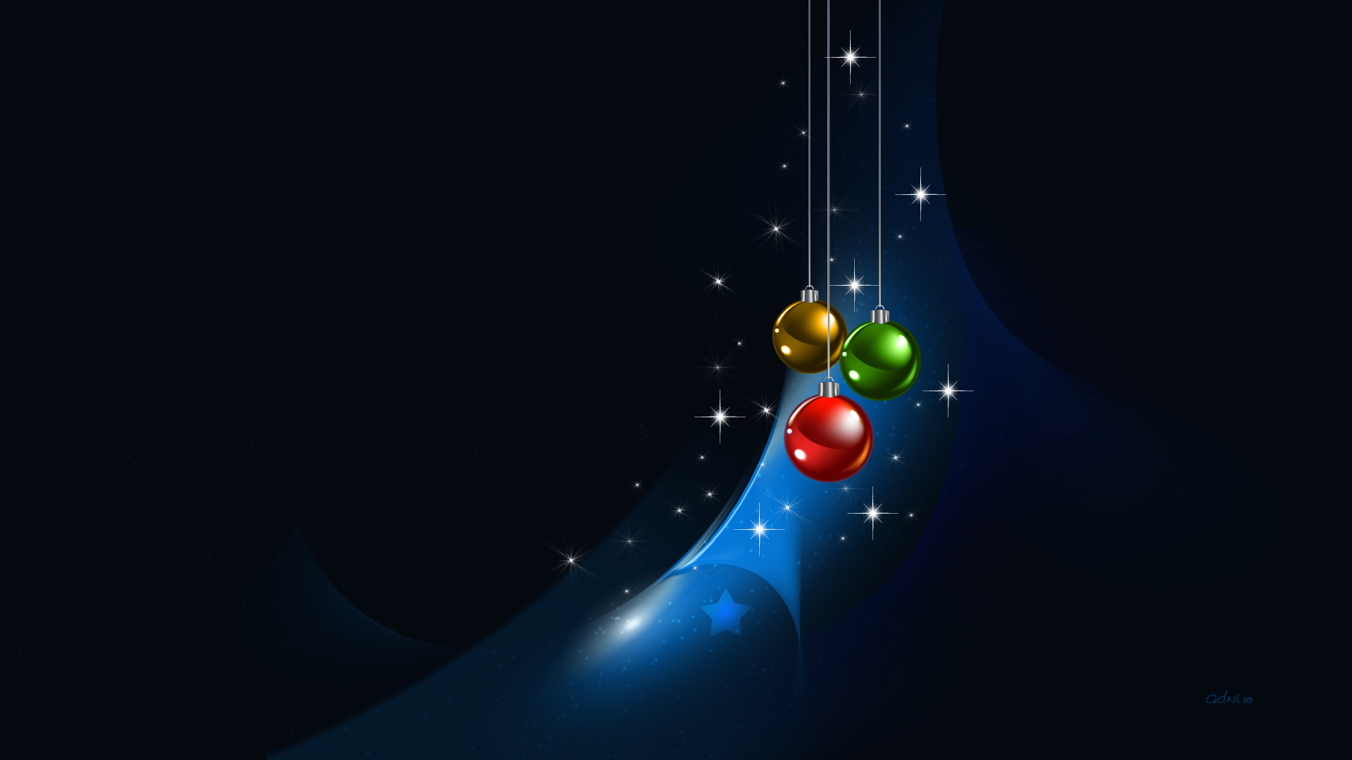 Christmas Abstract (2)