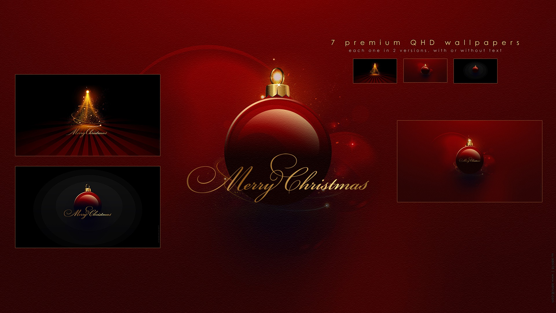 Christmas Wallpapers Pack