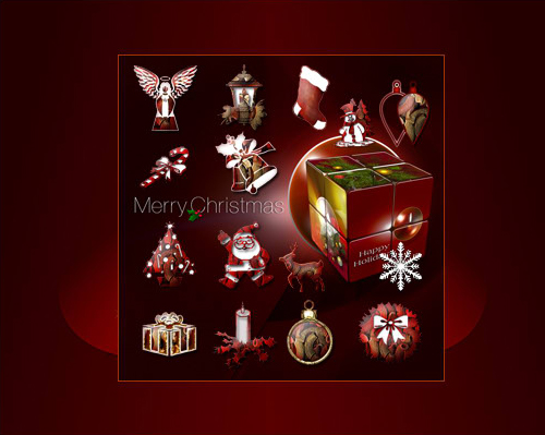 Christmas Holidays Icons