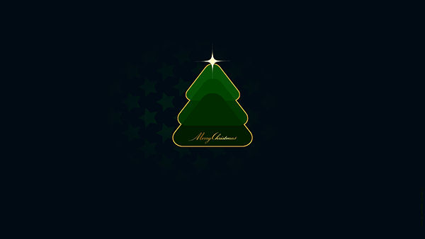 CHRISTMAS TREE GREEN  - UHD