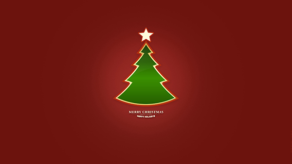 CHRISTMAS TREE_RED  - UHD